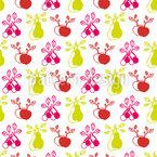 Sommer Garten Früchte Designmuster