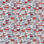 City Views Seamless Vector Pattern Design