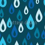 Regentropfen Designmuster