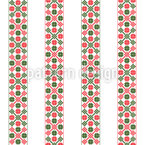 Vertical Hungarian Bordure Seamless Vector Pattern Design