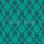 Blumenspitze Muster Design