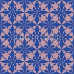 ムーア人の星 シームレスなベクトルパターン設計