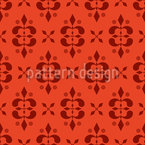 Romantic of a castle Seamless Vector Pattern