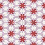 Grid Of Stars Pattern Design