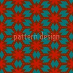 Dotted Stary Grid Pattern Design
