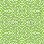 Round Shapes Around Seamless Vector Pattern Design