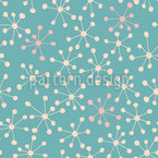 Gentle Stars Seamless Vector Pattern Design