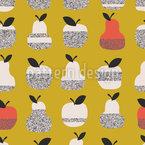 Früchte-Textur Nahtloses Vektormuster
