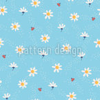 Sugared Daisies Design Pattern