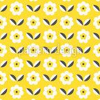七つの花びら シームレスなベクトルパターン設計