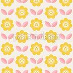 Sonnen-Blüten Musterdesign