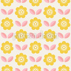 Sun Blossoms Pattern Design
