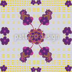 Fantastic Purple Seamless Vector Pattern Design