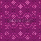 Discreet And Floral Design Pattern