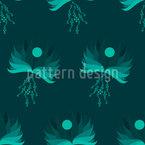 Verwehte Vögel Musterdesign