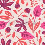 Minimalistische Blätter Vektor Design