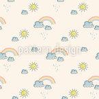 Regenbogen-Träume Designmuster
