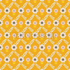 Vintage Grid Seamless Pattern