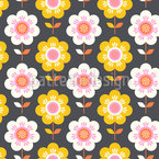 Valley Of Flowers Seamless Vector Pattern Design