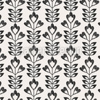 Monochrome Harvest Repeat Pattern