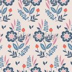 Botanical Composition Pattern Design