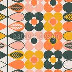 Stilisierte Botanik-Bordüre Vektor Design