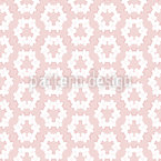 Delicate Floral Wreaths Repeating Pattern