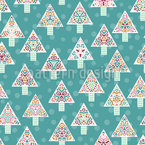 Alternative Christmas Trees Pattern Design