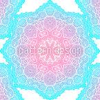 Leuchtende Mandala Sterne Vektor Muster