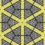 De Canto a Canto Design de padrão vetorial sem costura