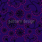Boheme Hanoi Night Seamless Vector Pattern Design
