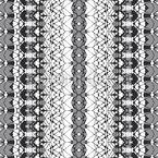 装飾されたフィリグリーストライプ シームレスなベクトルパターン設計