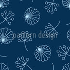In The Midst Of Night Seamless Vector Pattern Design