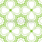 Mojo Power Lucky Clover Seamless Pattern