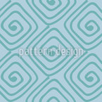 Spiral squares Seamless Vector Pattern Design