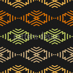 About Zig Zag And Rhombus Seamless Vector Pattern Design