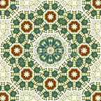 Decorazione ornamentale stretta disegni vettoriali senza cuciture