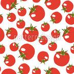 Tomaten Power Nahtloses Vektormuster