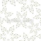 Decoração Estrela de Natal Design de padrão vetorial sem costura