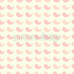 Paisley drops Seamless Vector Pattern Design