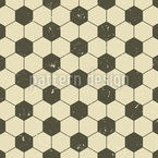 Vintage Soccer Structure Seamless Vector Pattern Design