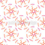 Wild grasses bouquets Seamless Pattern
