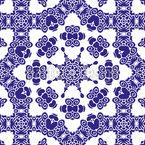 Schau dir die Lücken an Muster Design