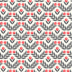 Bouncy Berries Seamless Pattern