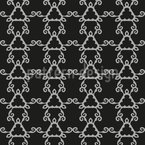 Outside Influences Seamless Vector Pattern Design