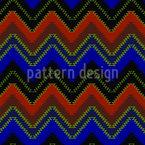 Zig Zag azteca Estampado Vectorial Sin Costura