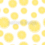 Healthy Lemon Slices Repeating Pattern