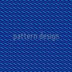 Ondas de corda Design de padrão vetorial sem costura
