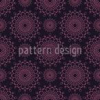 Estilo Oriental Design de padrão vetorial sem costura