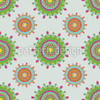 Orient Style Seamless Vector Pattern Design